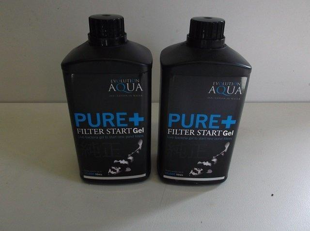 Evolution Aqua Pure plus filter start Gel