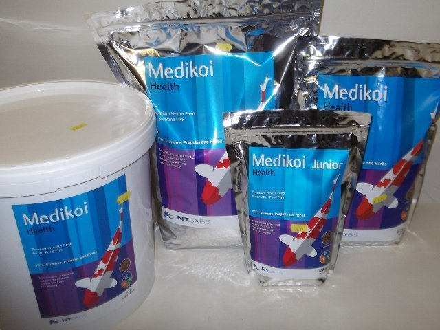 NT Labs Medikoi Health 6 mm floating Fish Food