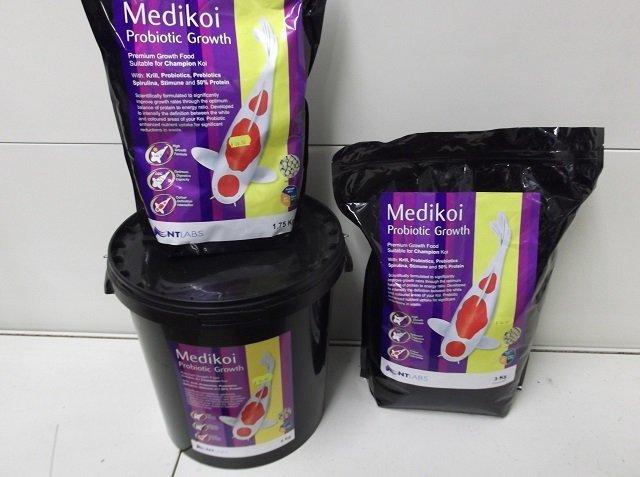 Medikoi Probiotic Growth floating Koi food