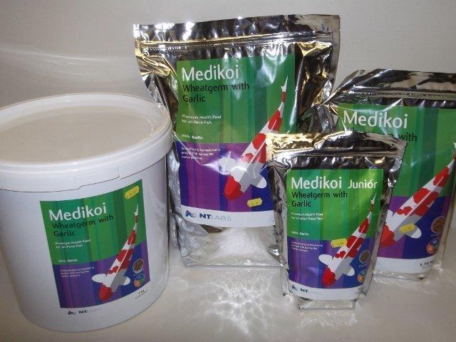 NT Labs Medikoi Wheatgerm + Garlic 6mm Pond Food