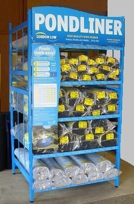 Sealeco Greenseal rubber Pond liner  pre packs