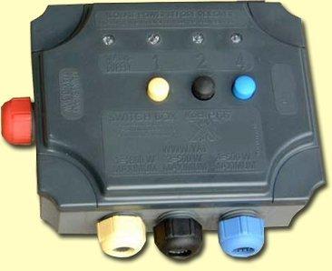 Yamitsu Switch Box 3 way separate fuses