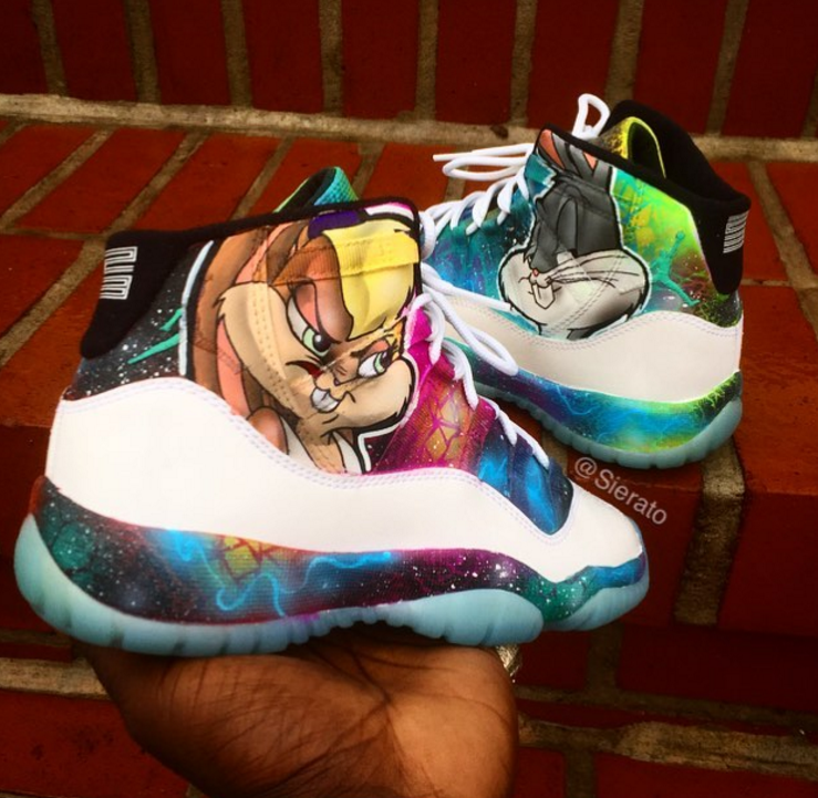jordan space jam shoes