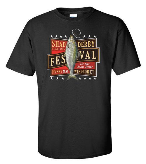 Official Windsor Shad Derby T-shirt (Black)
