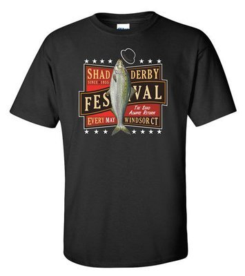 Official Windsor Shad Derby T-shirt (Black)