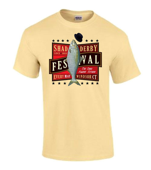 Official Windsor Shad Derby T-shirt (Tan)