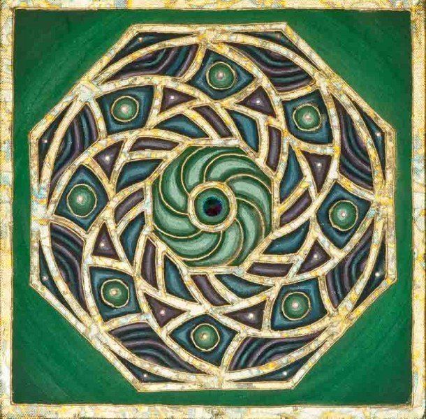 Green Chakra Open Heart 00020