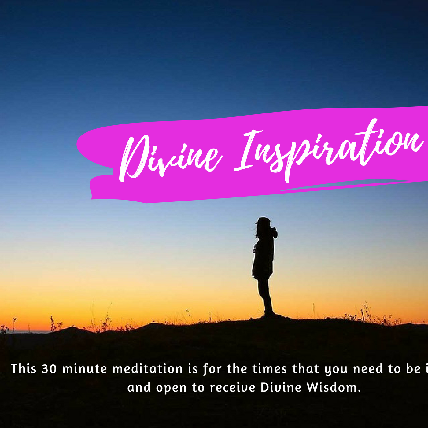 Divine Inspiration Meditation 00050