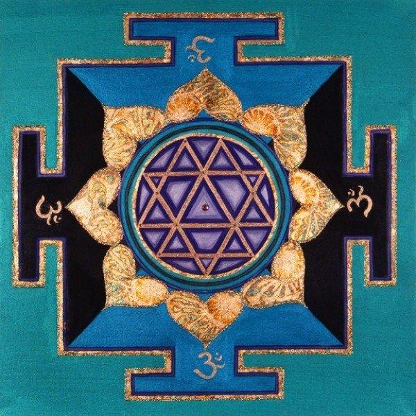 Turquoise Durga 00072