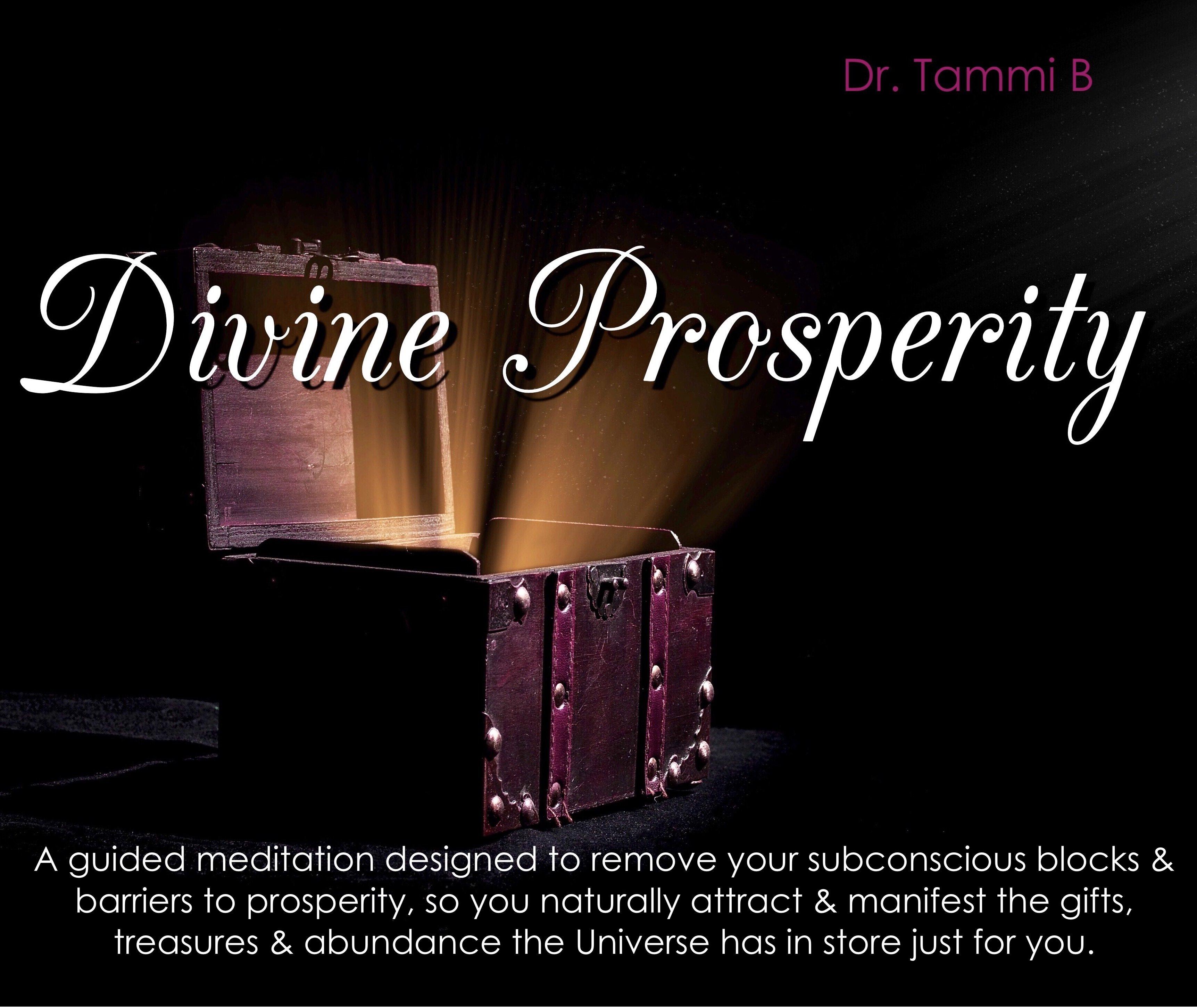 Divine Prosperity Meditation 00088