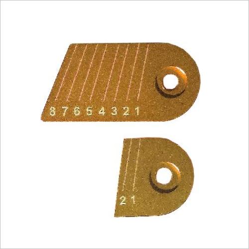 Gillo Gold Medal Aluminium Clicker Plates