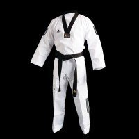 ADI-CLUB TAEKWONDO UNIFORM WITH 3 STRIPES