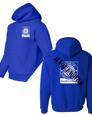 """""""Hazelwood"""" stamp hoodie"""