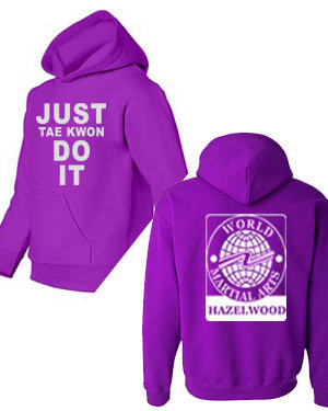 Just Taekwon DO IT Hoodie