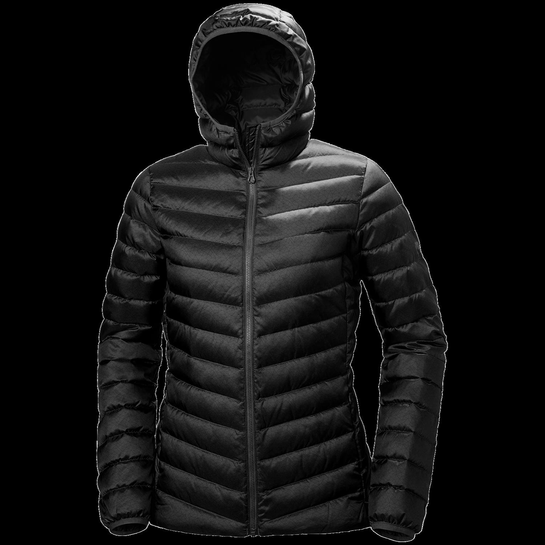 W Verglas Hooded Down Jacket