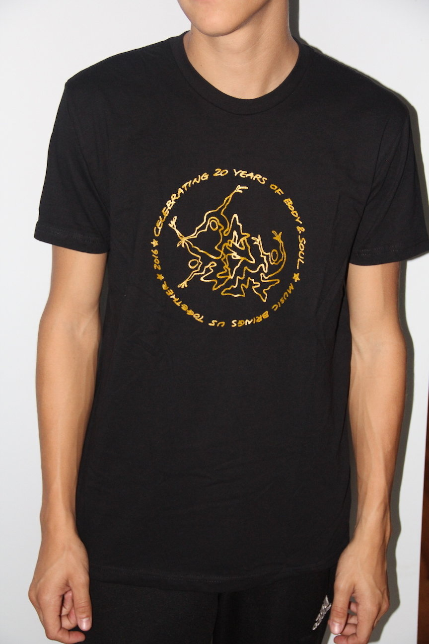 Men 20th Anniv Black w/ Gold Ink XL BD4BTZOZTVJJDKI7XK7TE4Q6