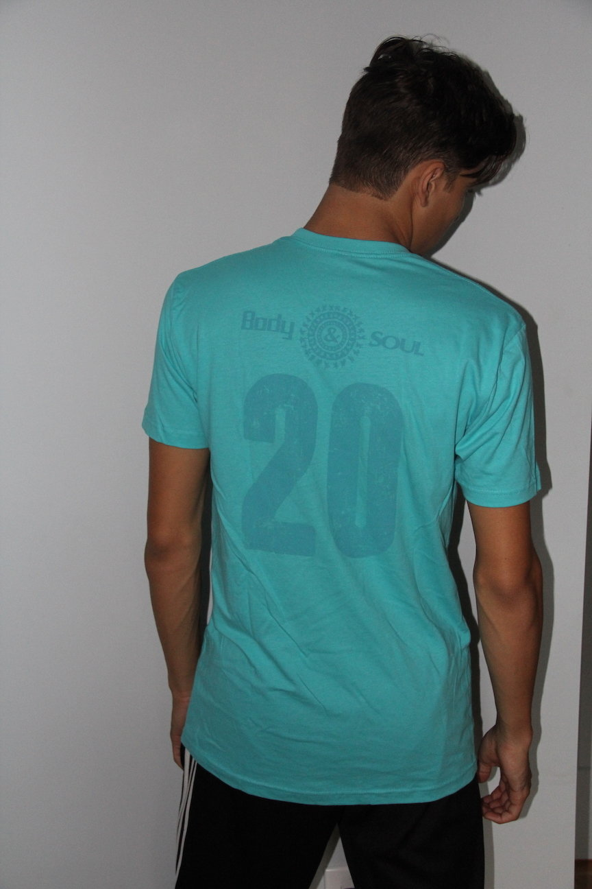 Men 20th Anniv Black w/ Gold Ink L
