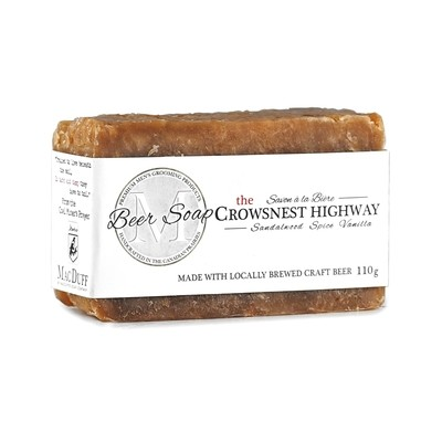 Crowsnest Pass Beer Soap
