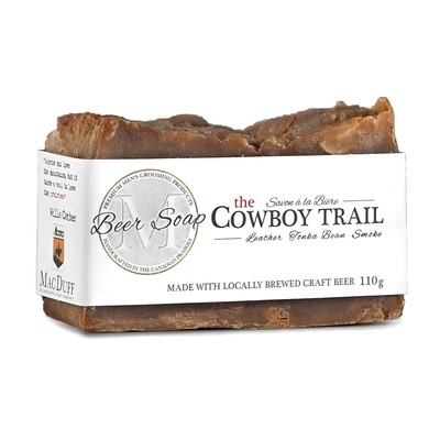 The Cowboy Trail Beer Soap