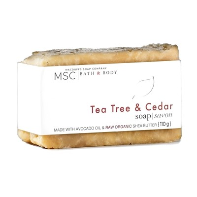 Tea Tree & Cedar Bar Soap