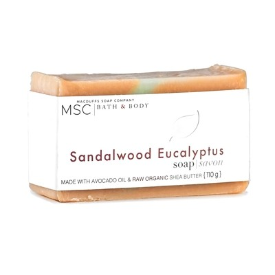 Sandalwood Eucalyptus Bar Soap