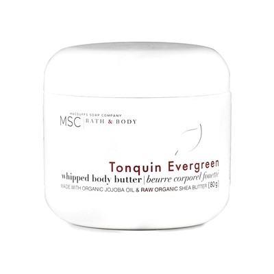 Tonquin Evergreen Whipped Body Butter