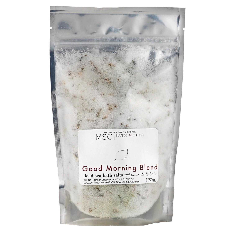 Good Morning Blend Dead Sea Bath Salts