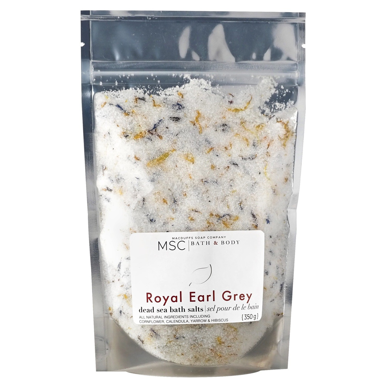 Royal Earl Grey Dead Sea Bath Salts