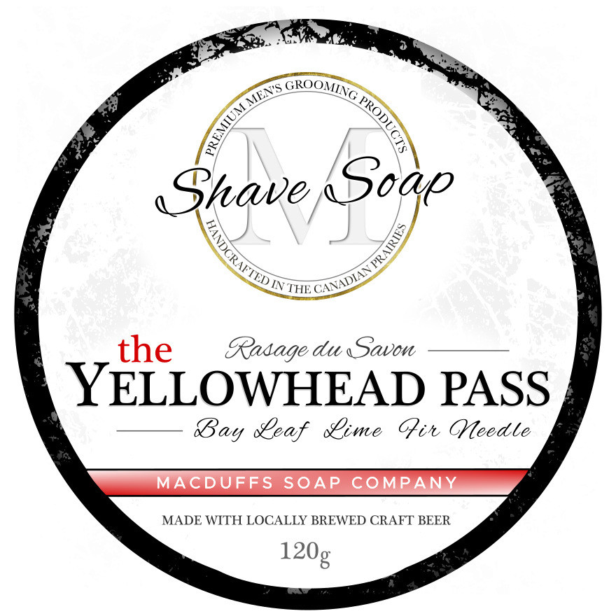 Yellowhead Pass Shave Soap