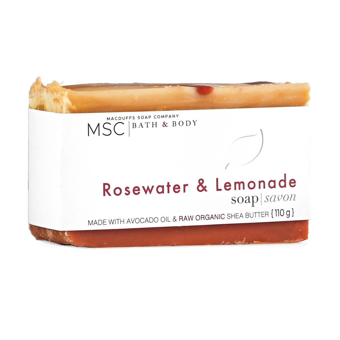 Rosewater & Lemonade Bar Soap