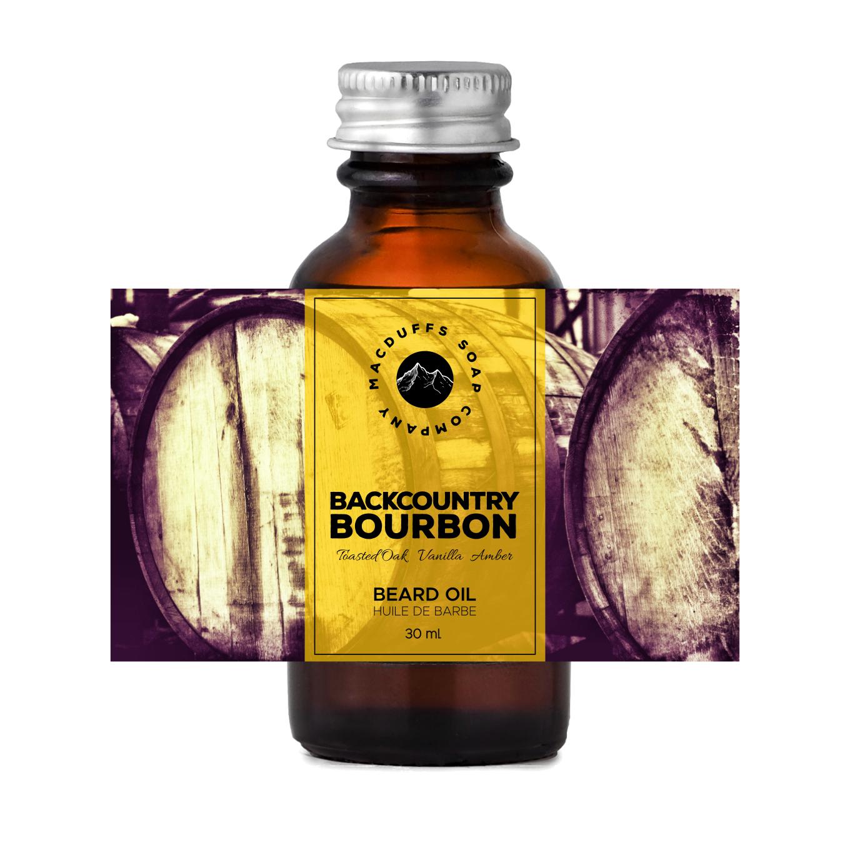 Backcountry Bourbon Beard Oil