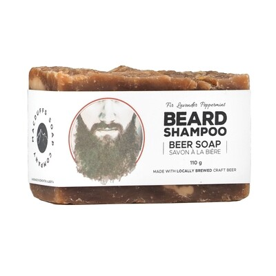 Beard Shampoo Beer Soap