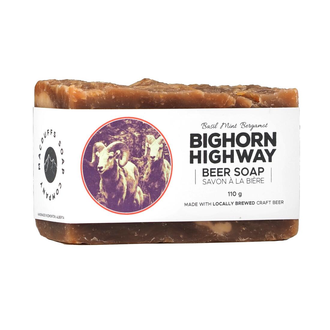 Bighorn Highway Beer Soap
