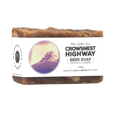 Crowsnest HIghway Beer Soap