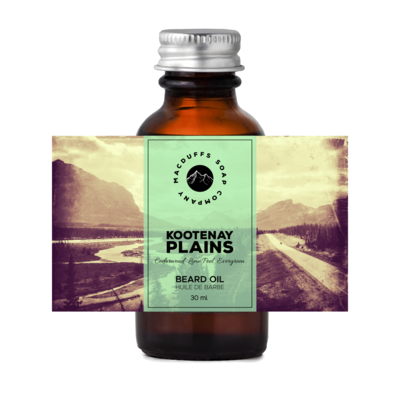 Kootenay Plains Beard Oil