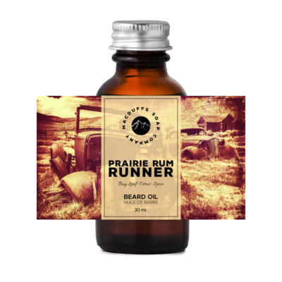 Prairie Rum Runner Beard Oil
