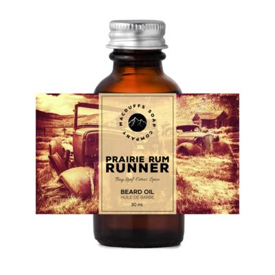 Prairie Rum Runner Beard Oil