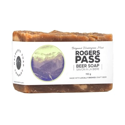 Roger's Pass Beer Soap