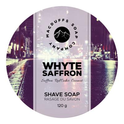 Whyte Saffron Shave Soap