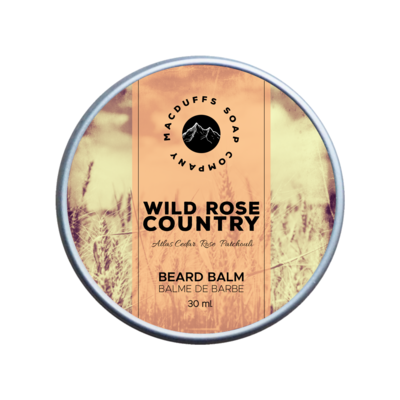 Wild Rose Country Beard Balm