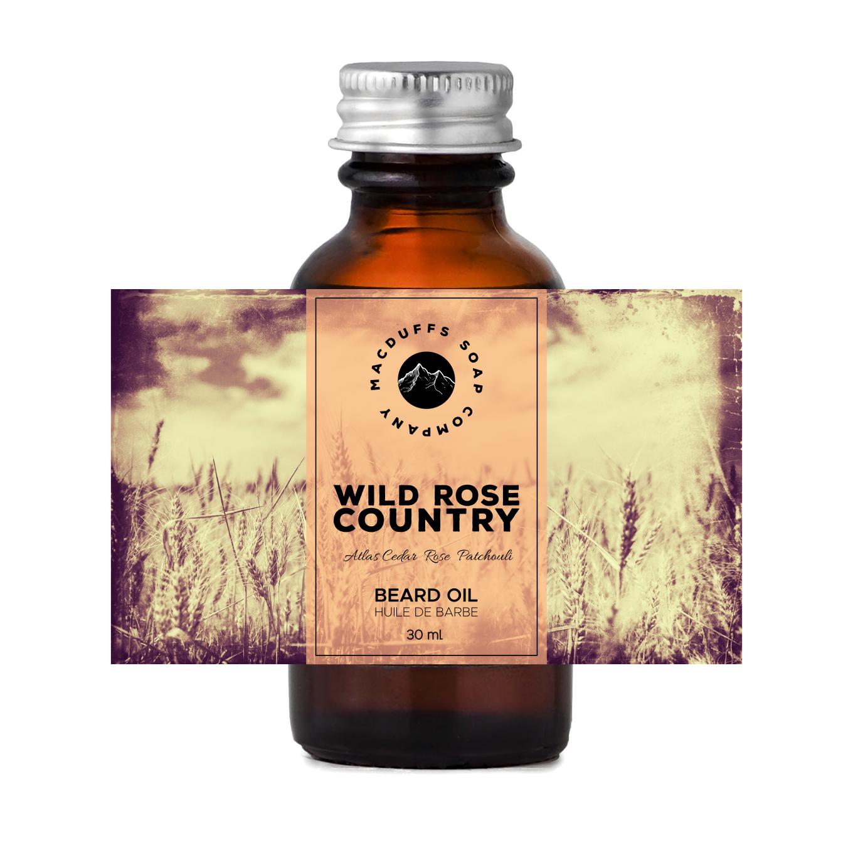 Wild Rose Country Beard Oil