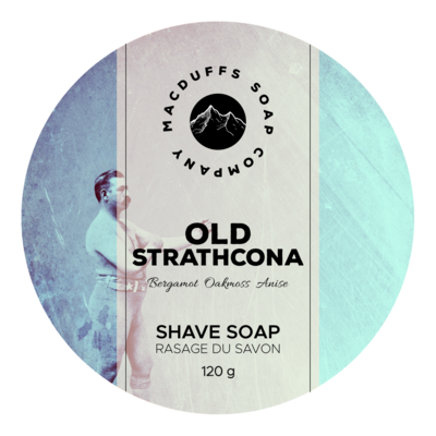 Old Strathcona Botanical Shave Soap