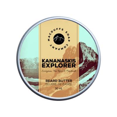 Kananaskis Explorer Beard Butter