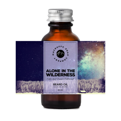 Alone in the Wilderness Beard Oil