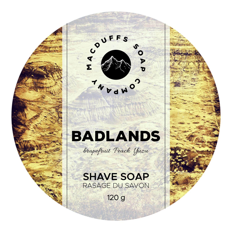 Badlands Shave Soap