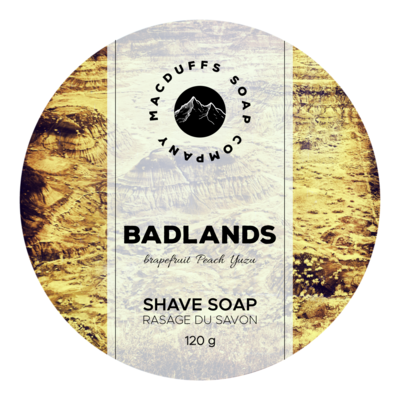 Badlands Shave Soap