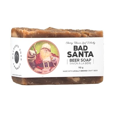 Bad Santa Beer Soap