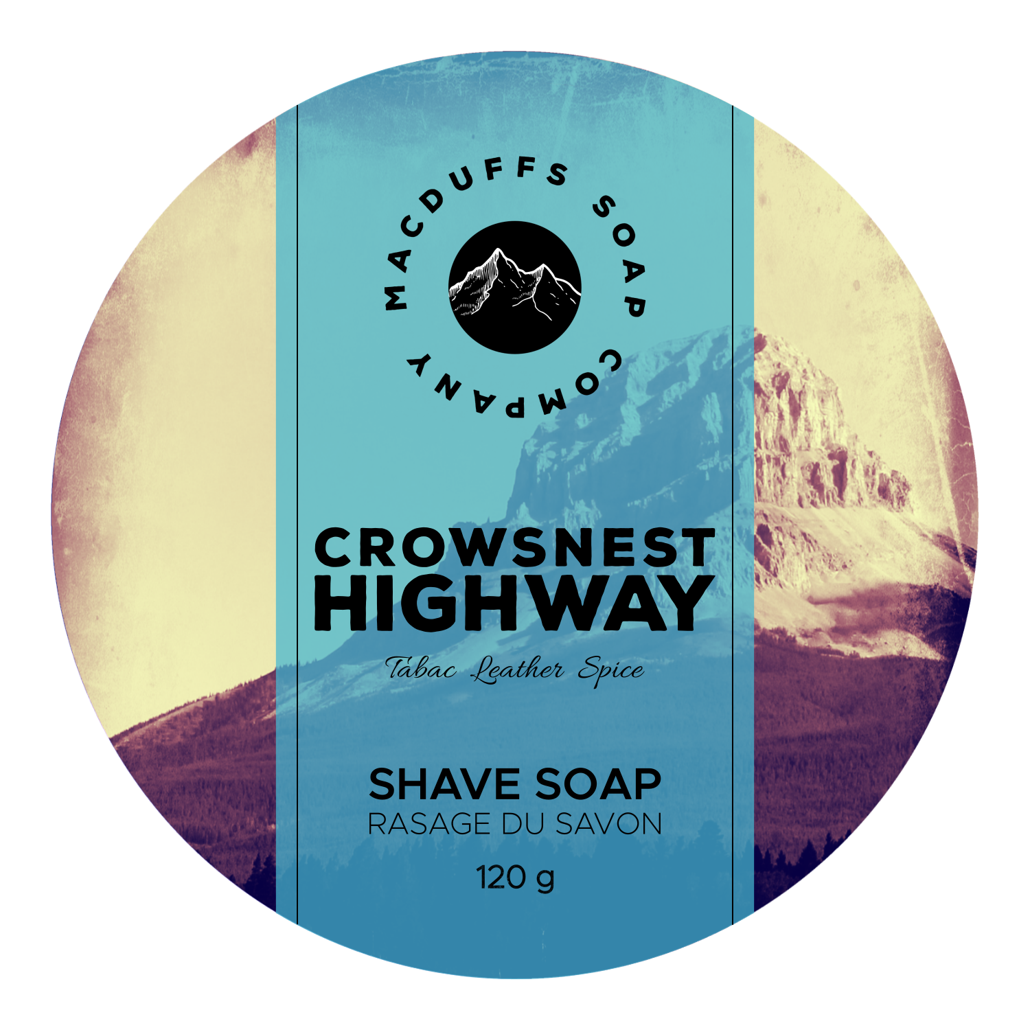 Crowsnest Shave Soap