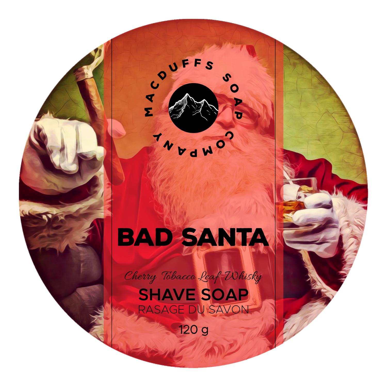 Bad Santa Shave Soap