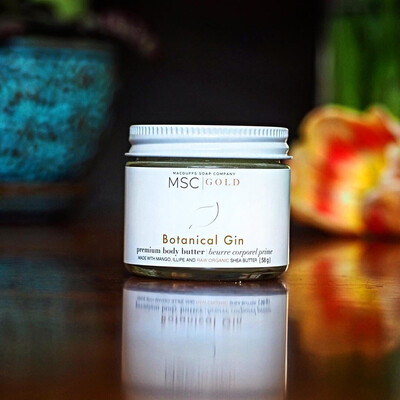 Botanical Gin Premium Body Butter